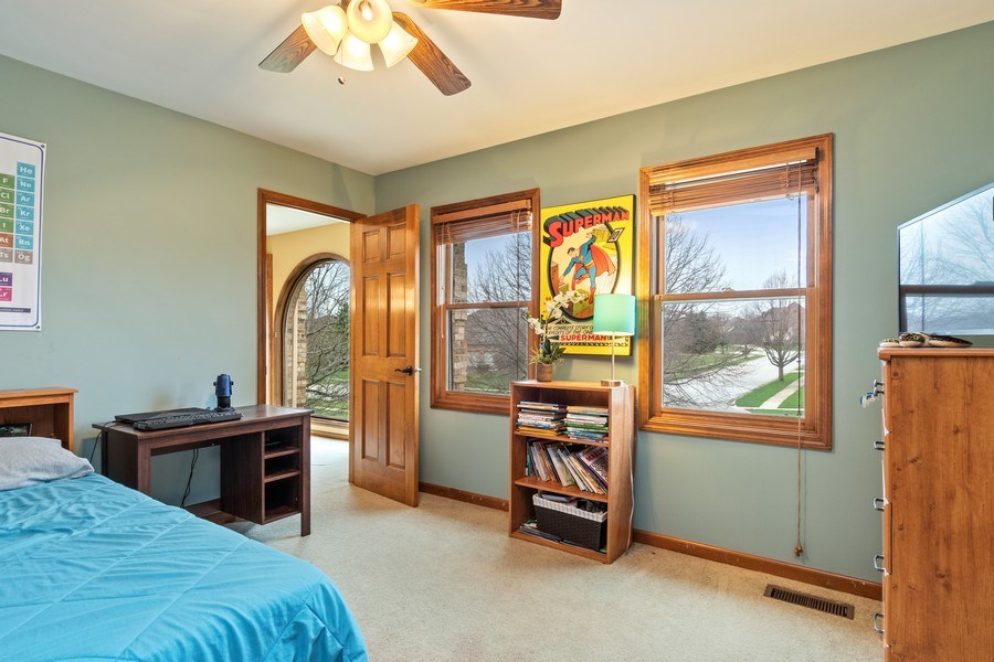 Real Estate Photography - 10803 Royal Porthcawl Drive, Naperville, IL, 60564 - 3rd Bedroom