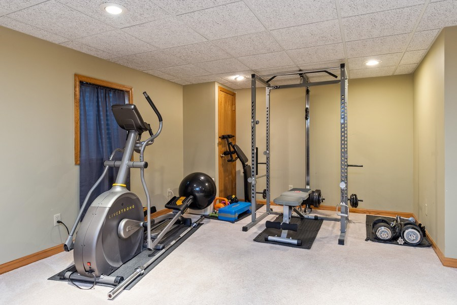 Real Estate Photography - 10803 Royal Porthcawl Drive, Naperville, IL, 60564 - Gym