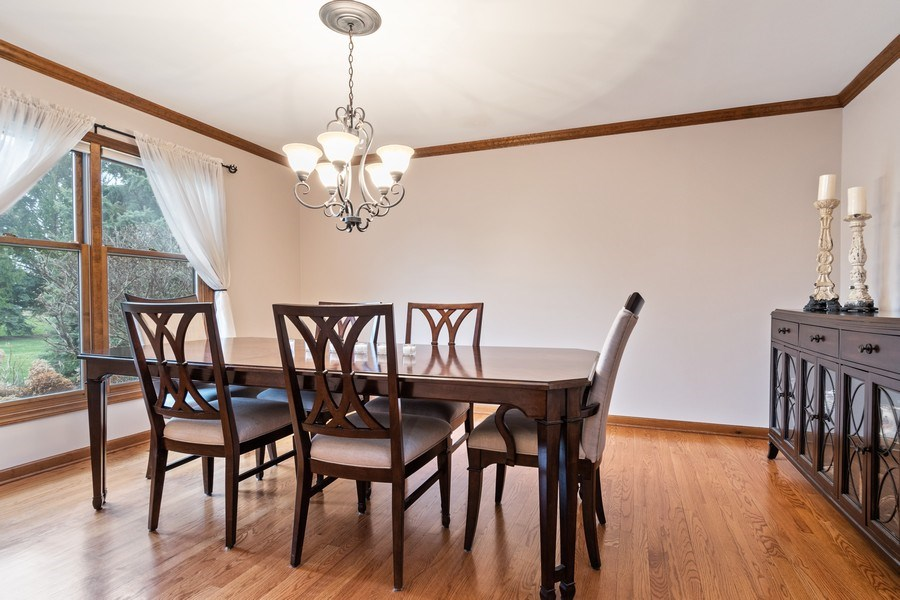 Real Estate Photography - 10803 Royal Porthcawl Drive, Naperville, IL, 60564 - Dining Room