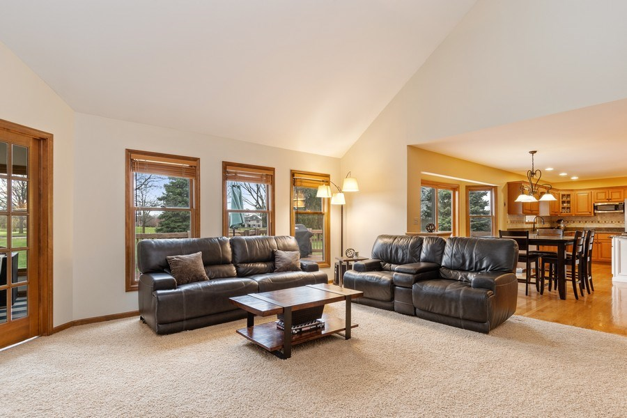 Real Estate Photography - 10803 Royal Porthcawl Drive, Naperville, IL, 60564 - Family Room