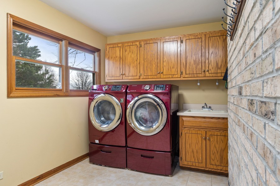 Real Estate Photography - 10803 Royal Porthcawl Drive, Naperville, IL, 60564 - Laundry Room