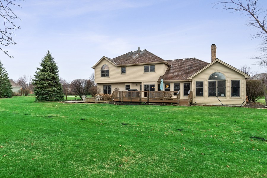 Real Estate Photography - 10803 Royal Porthcawl Drive, Naperville, IL, 60564 - Rear View