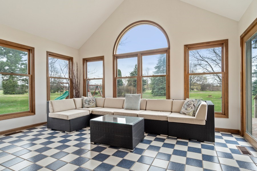 Real Estate Photography - 10803 Royal Porthcawl Drive, Naperville, IL, 60564 - Sun Room