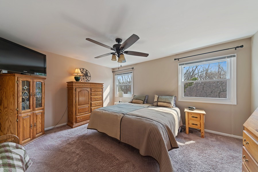 Real Estate Photography - 237 S. Park Place Drive, Bartlett, IL, 60103 - Master Bedroom