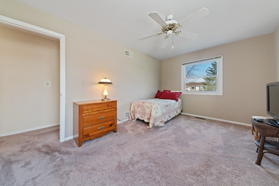 Real Estate Photography - 237 S. Park Place Drive, Bartlett, IL, 60103 - 2nd Bedroom