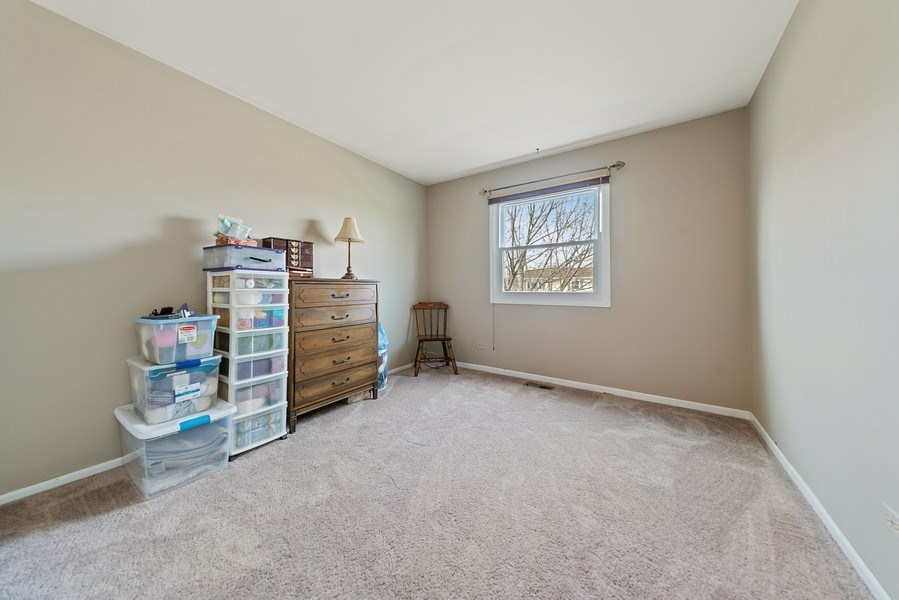 Real Estate Photography - 237 S. Park Place Drive, Bartlett, IL, 60103 - 3rd Bedroom