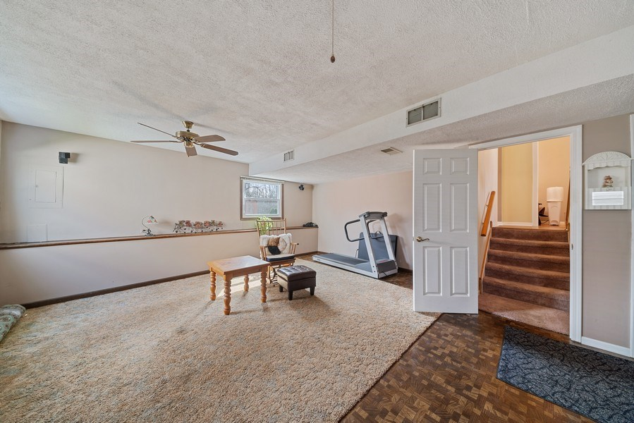 Real Estate Photography - 237 S. Park Place Drive, Bartlett, IL, 60103 - Recreational Room