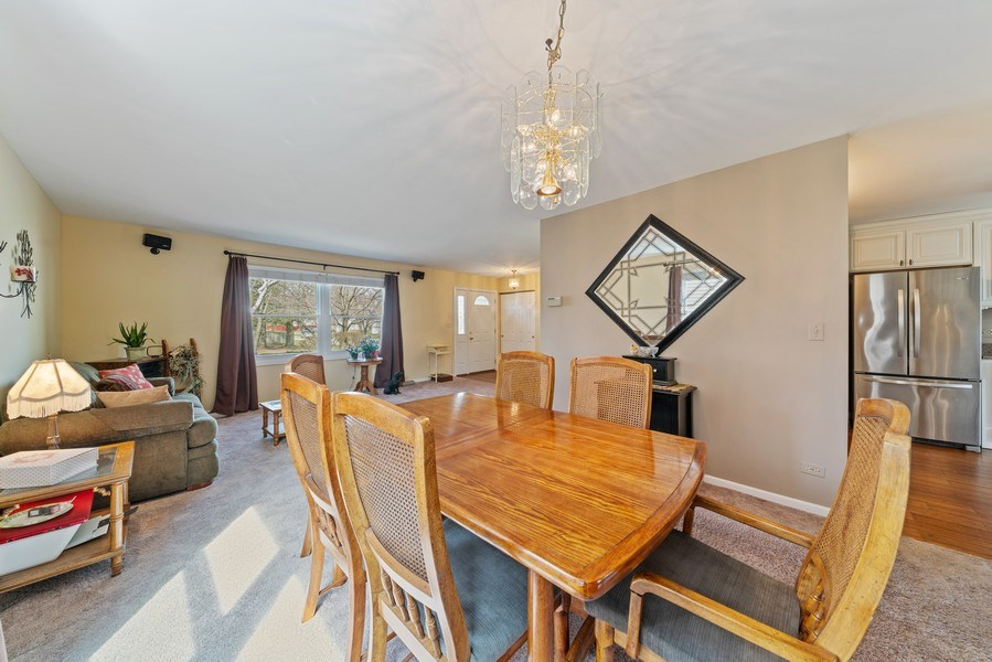 Real Estate Photography - 237 S. Park Place Drive, Bartlett, IL, 60103 - Dining Room