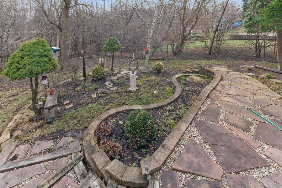 Real Estate Photography - 237 S. Park Place Drive, Bartlett, IL, 60103 - Patio