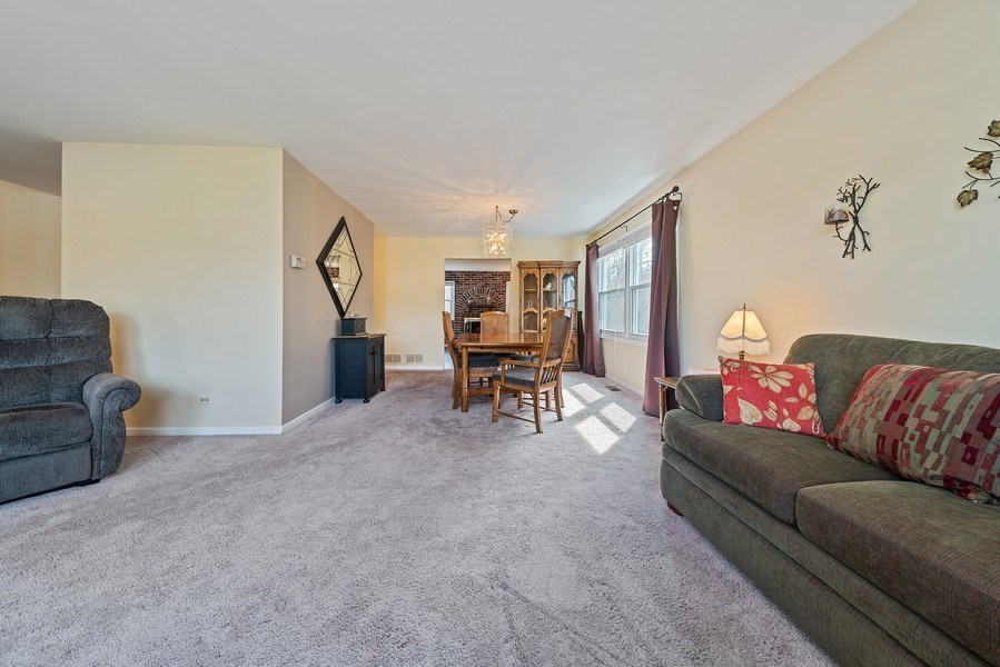 Real Estate Photography - 237 S. Park Place Drive, Bartlett, IL, 60103 - Living Room/Dining Room