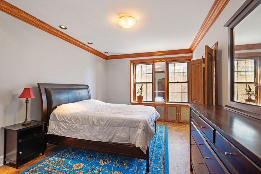 Real Estate Photography - 6101 N. Sheridan Road, Unit 3B-3C, Chicago, IL, 60660 - 3rd Bedroom