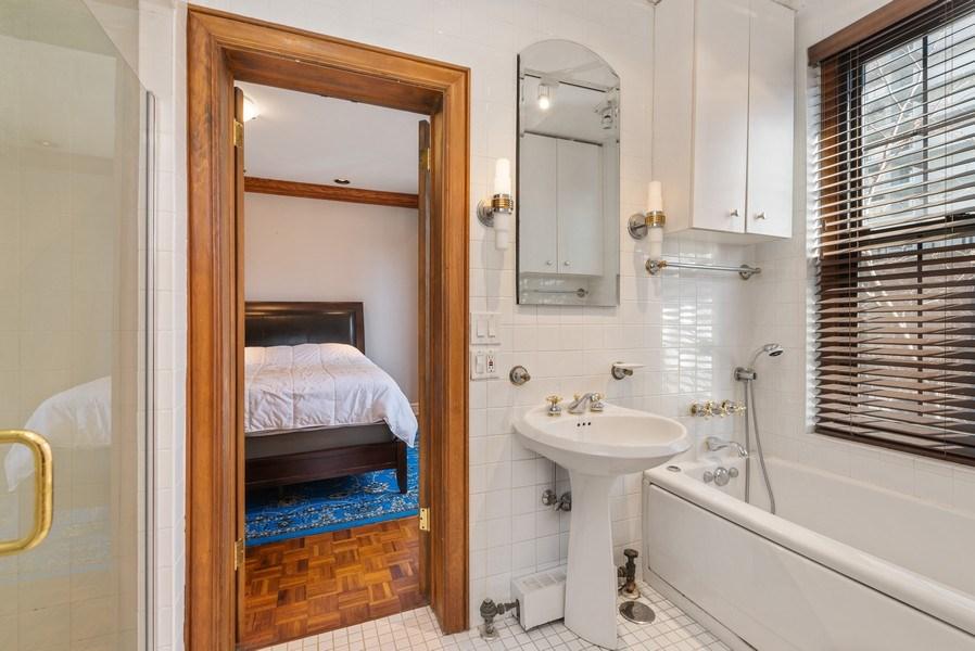 Real Estate Photography - 6101 N. Sheridan Road, Unit 3B-3C, Chicago, IL, 60660 - 2nd Bathroom