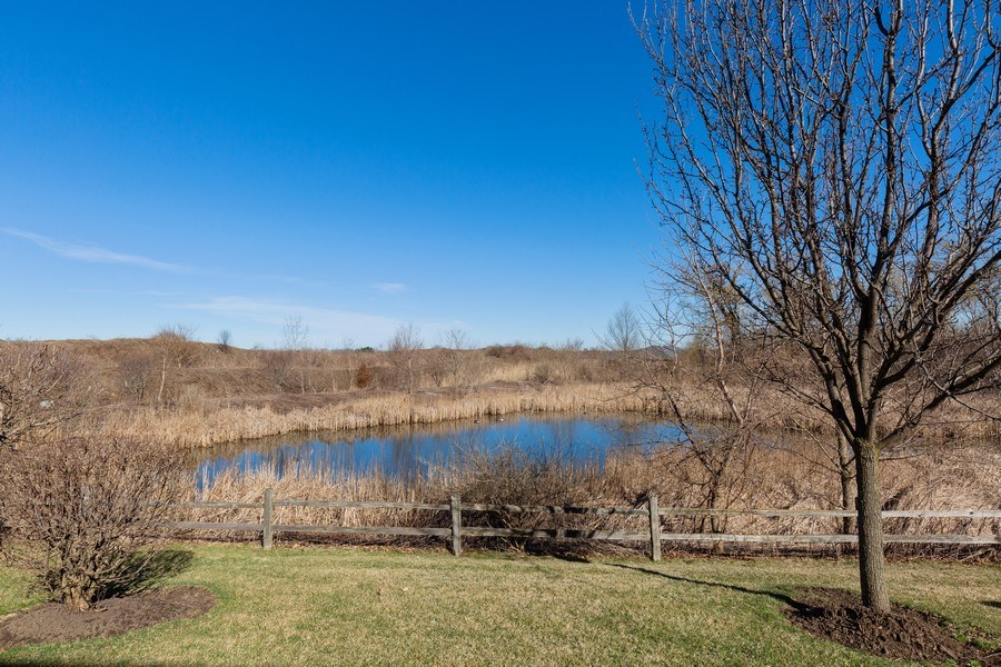 Real Estate Photography - 2634 Williamsburg Drive, Algonquin, IL, 60102 - Back Yard