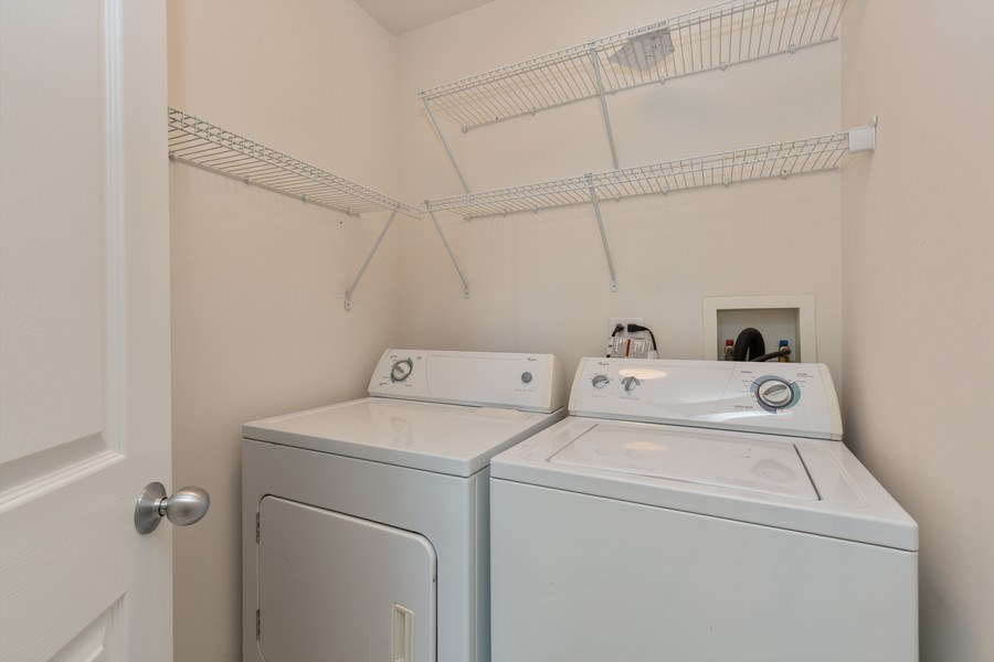 Real Estate Photography - 2634 Williamsburg Drive, Algonquin, IL, 60102 - Laundry Room