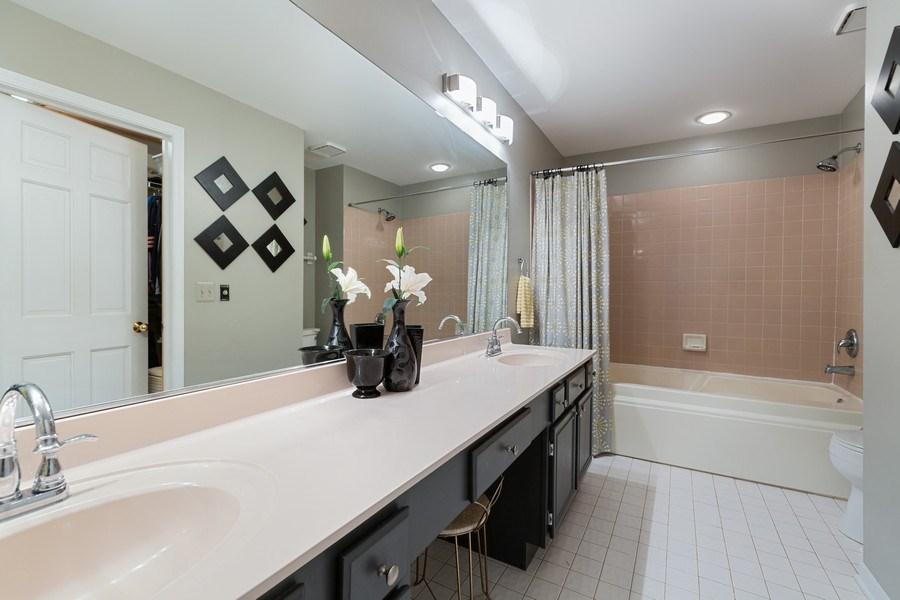 Real Estate Photography - 433 Edgewater Lane, Wauconda, IL, 60084 - Master Bathroom