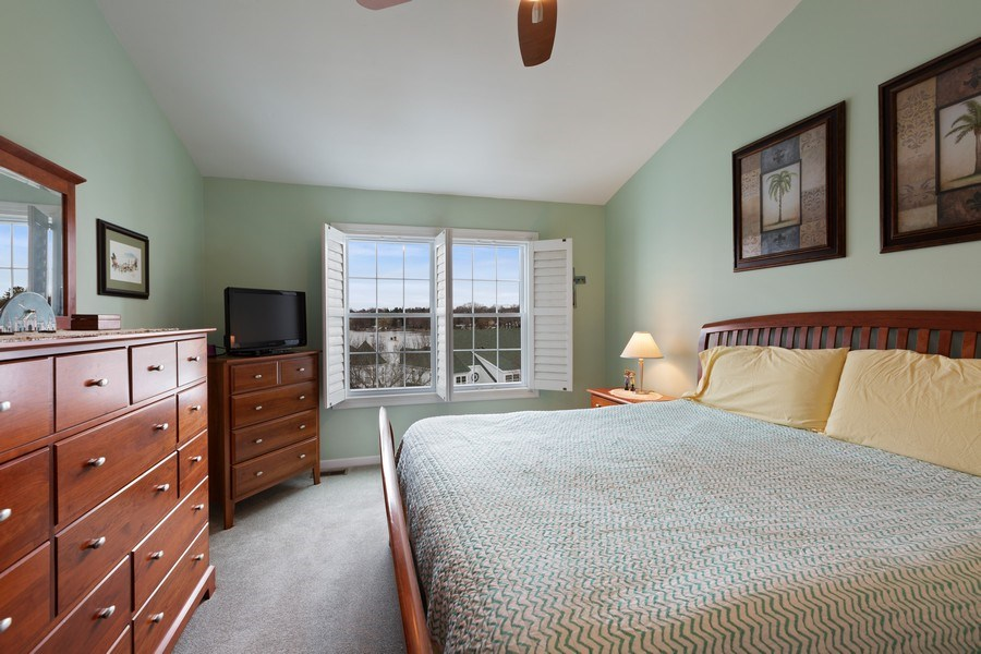 Real Estate Photography - 433 Edgewater Lane, Wauconda, IL, 60084 - Master Bedroom