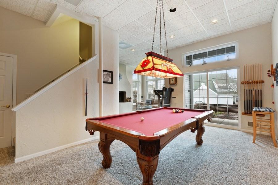 Real Estate Photography - 433 Edgewater Lane, Wauconda, IL, 60084 - Rec Room