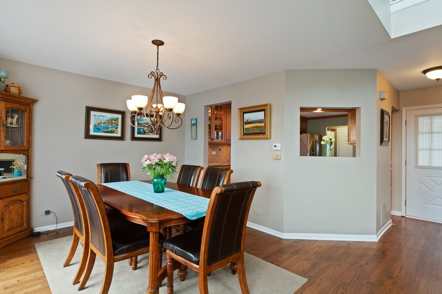 Real Estate Photography - 433 Edgewater Lane, Wauconda, IL, 60084 - Dining Room