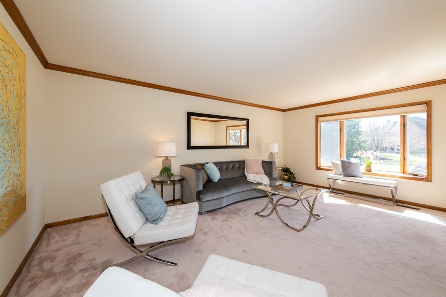 Real Estate Photography - 10513 Royal Porthcawl Drive, Naperville, IL, 60564 - Living Room
