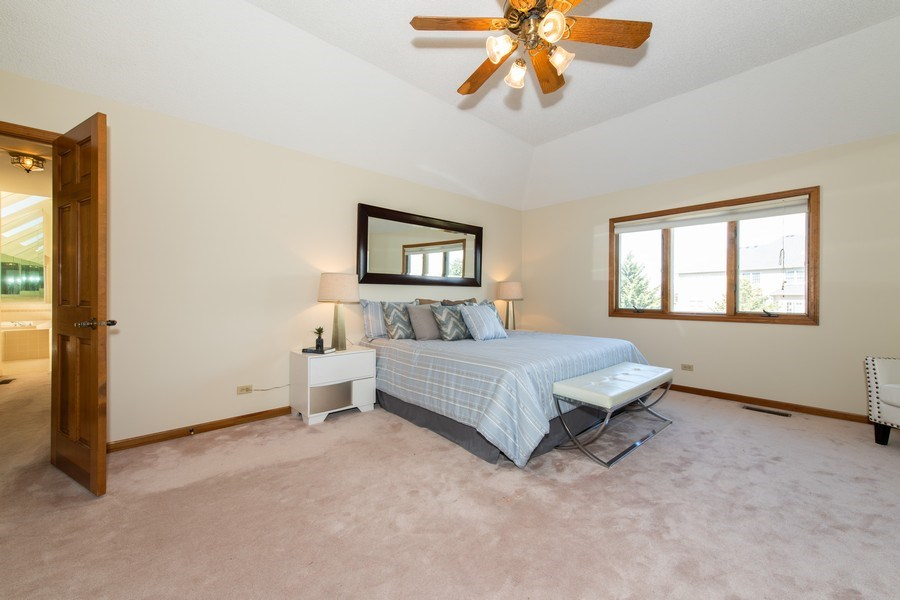 Real Estate Photography - 10513 Royal Porthcawl Drive, Naperville, IL, 60564 - Master Bedroom