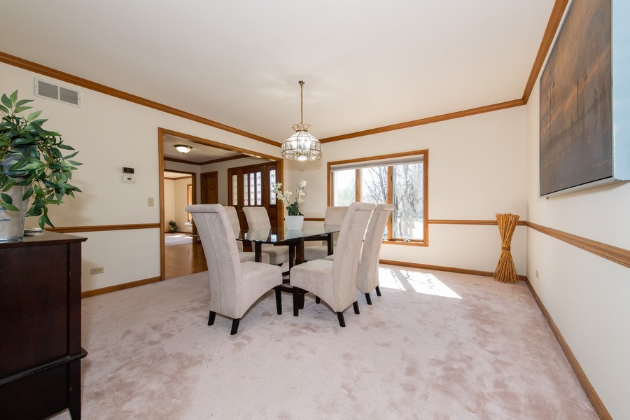 Real Estate Photography - 10513 Royal Porthcawl Drive, Naperville, IL, 60564 - Foyer/Dining Room