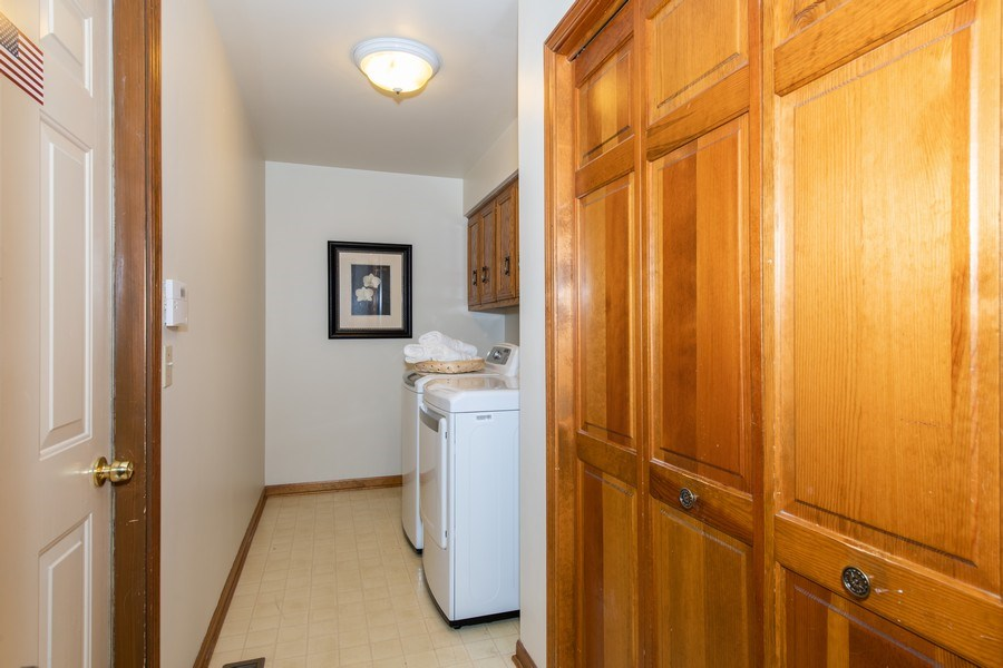 Real Estate Photography - 10513 Royal Porthcawl Drive, Naperville, IL, 60564 - Laundry Room