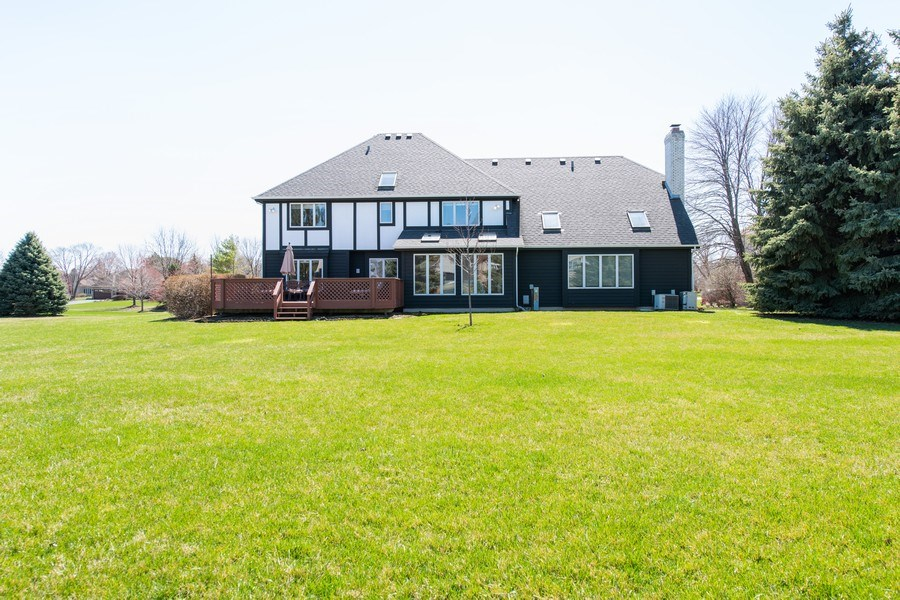 Real Estate Photography - 10513 Royal Porthcawl Drive, Naperville, IL, 60564 - Rear View