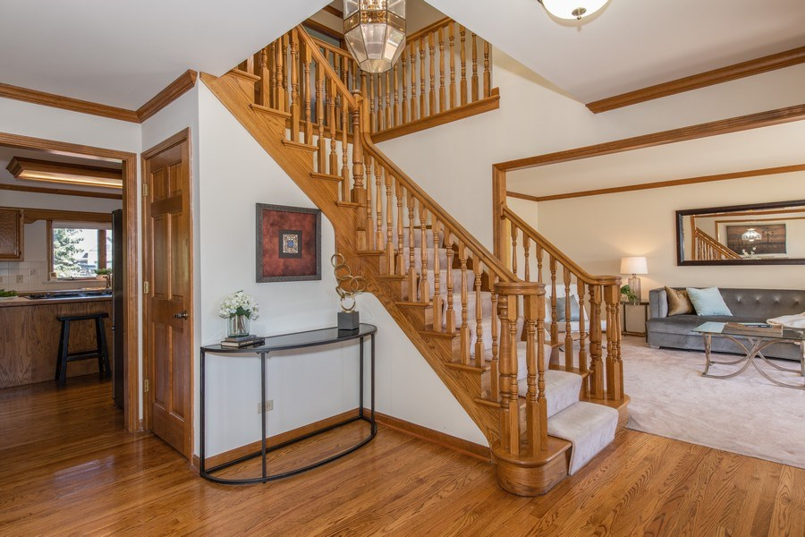 Real Estate Photography - 10513 Royal Porthcawl Drive, Naperville, IL, 60564 - Staircase