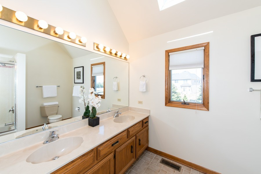 Real Estate Photography - 10513 Royal Porthcawl Drive, Naperville, IL, 60564 - Bathroom