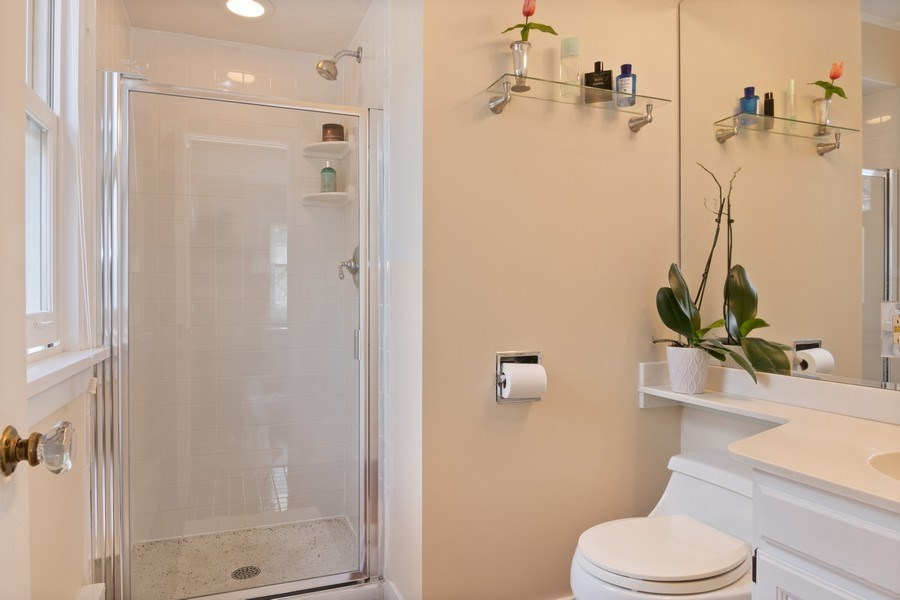 Real Estate Photography - 2139 Forestview Road, Evanston, IL, 60201 - Master Bathroom