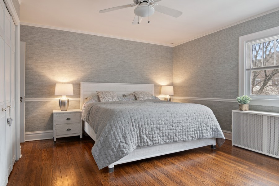 Real Estate Photography - 2139 Forestview Road, Evanston, IL, 60201 - Master Bedroom