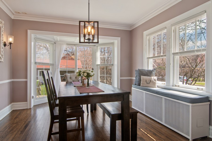 Real Estate Photography - 2139 Forestview Road, Evanston, IL, 60201 - Dining Room