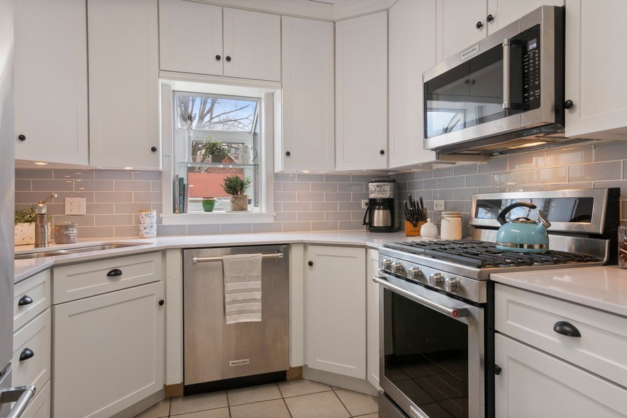 Real Estate Photography - 2139 Forestview Road, Evanston, IL, 60201 - Kitchen