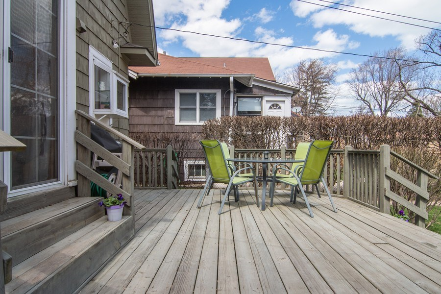 Real Estate Photography - 2139 Forestview Road, Evanston, IL, 60201 - Deck