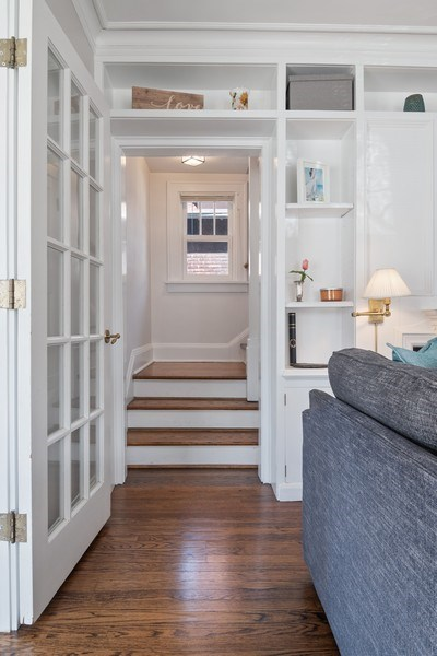Real Estate Photography - 2139 Forestview Road, Evanston, IL, 60201 - Staircase