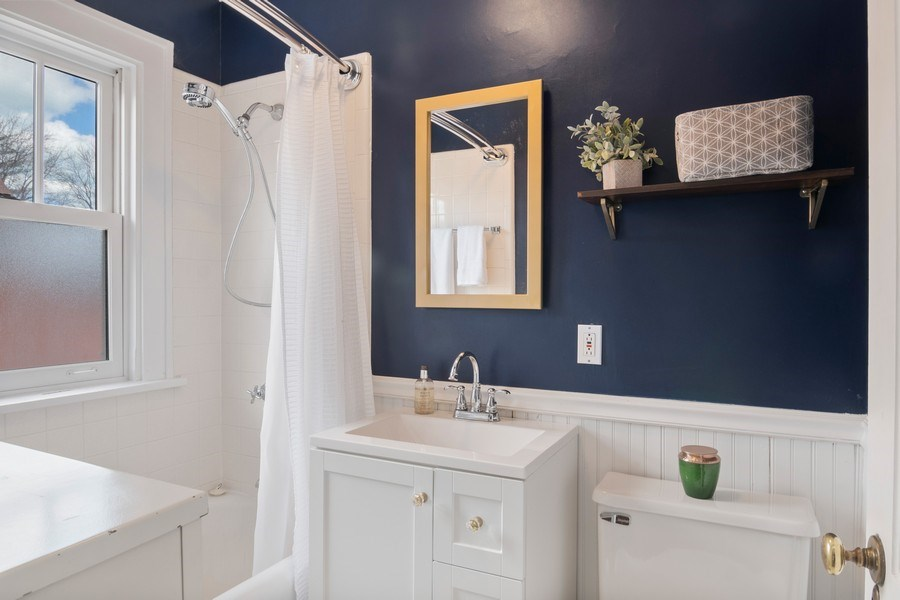 Real Estate Photography - 2139 Forestview Road, Evanston, IL, 60201 - Bathroom