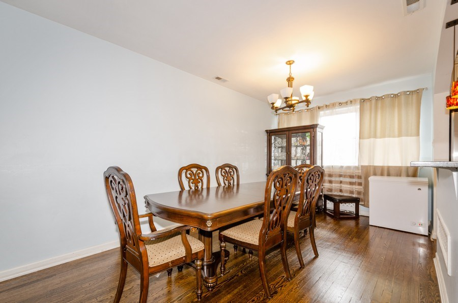Real Estate Photography - 2637 W. Fitch Avenue, Unit 3E, Chicago, IL, 60645 - Dining Room