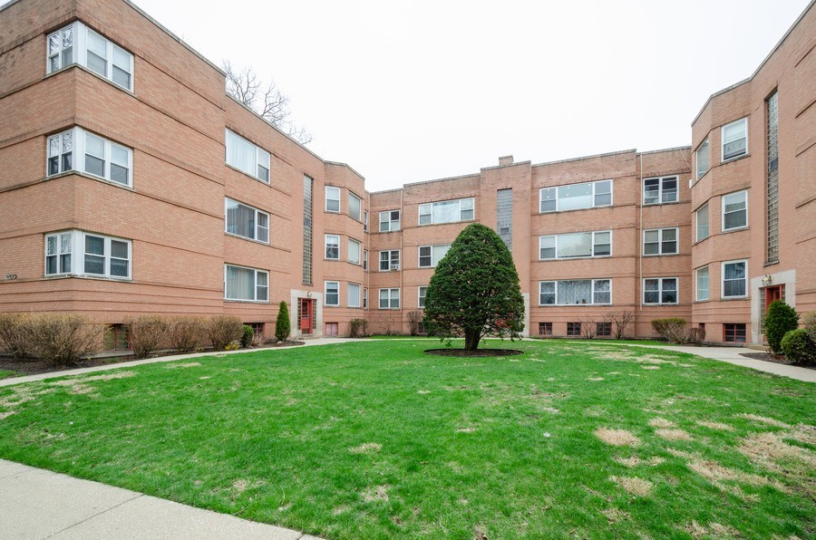 Real Estate Photography - 2637 W. Fitch Avenue, Unit 3E, Chicago, IL, 60645 - Front View