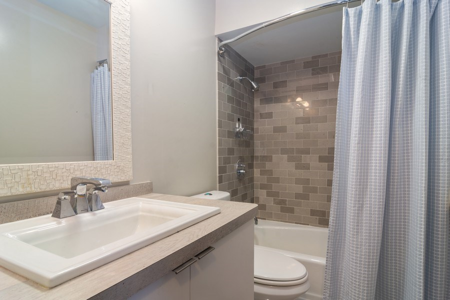 Real Estate Photography - 2812 E. Bel Aire Drive, Unit 101, Arlington Heights, IL, 60004 - Bathroom