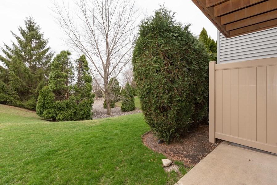 Real Estate Photography - 633 MALLARD Court, Unit C1, Bartlett, IL, 60103 - Back Yard