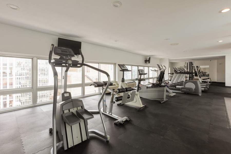 Real Estate Photography - 1221 N. DEARBORN Street, Unit PH12N, Chicago, IL, 60610 - Gym