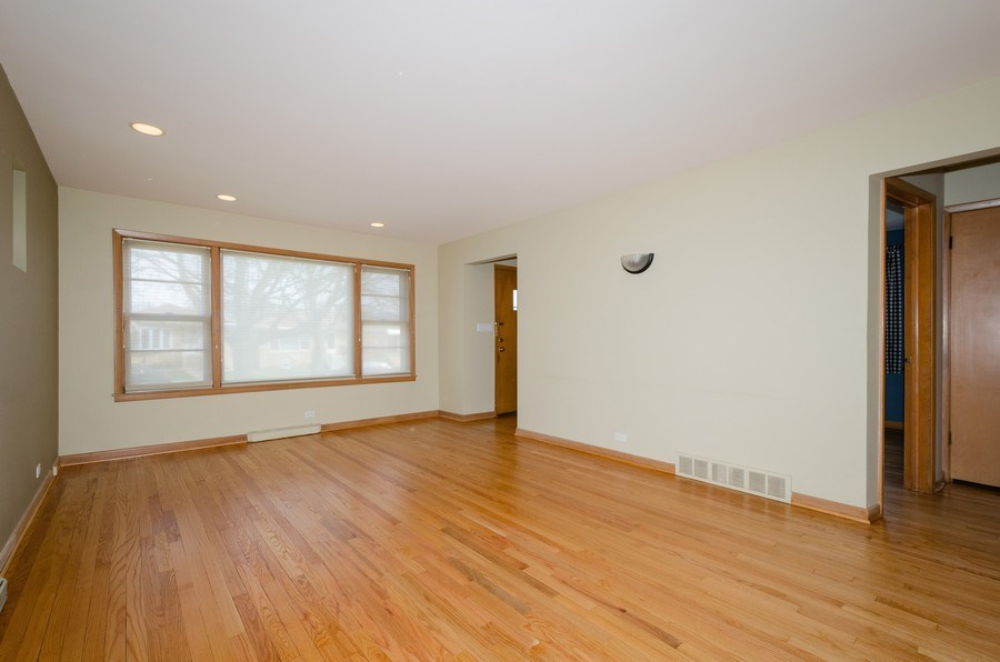 Real Estate Photography - 7438 N. ORIOLE Avenue, Chicago, IL, 60631 - Living Room