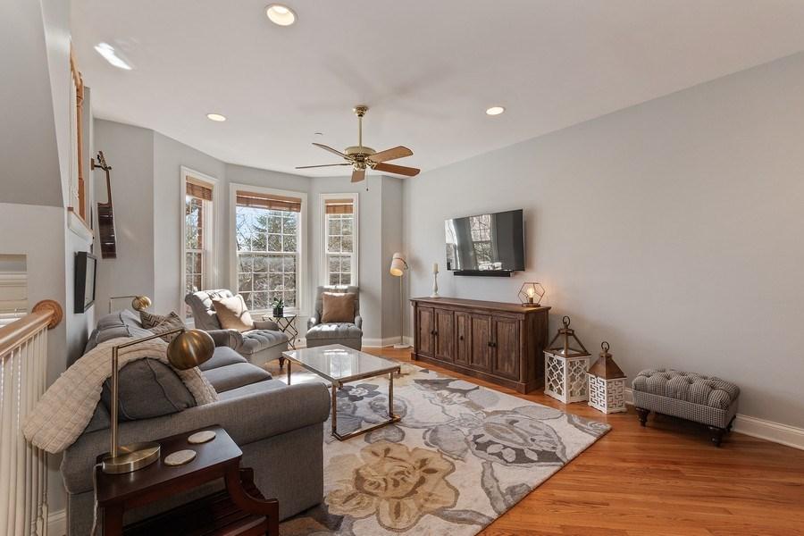 Real Estate Photography - 705 Prescott Court, Naperville, IL, 60563 - Living Room