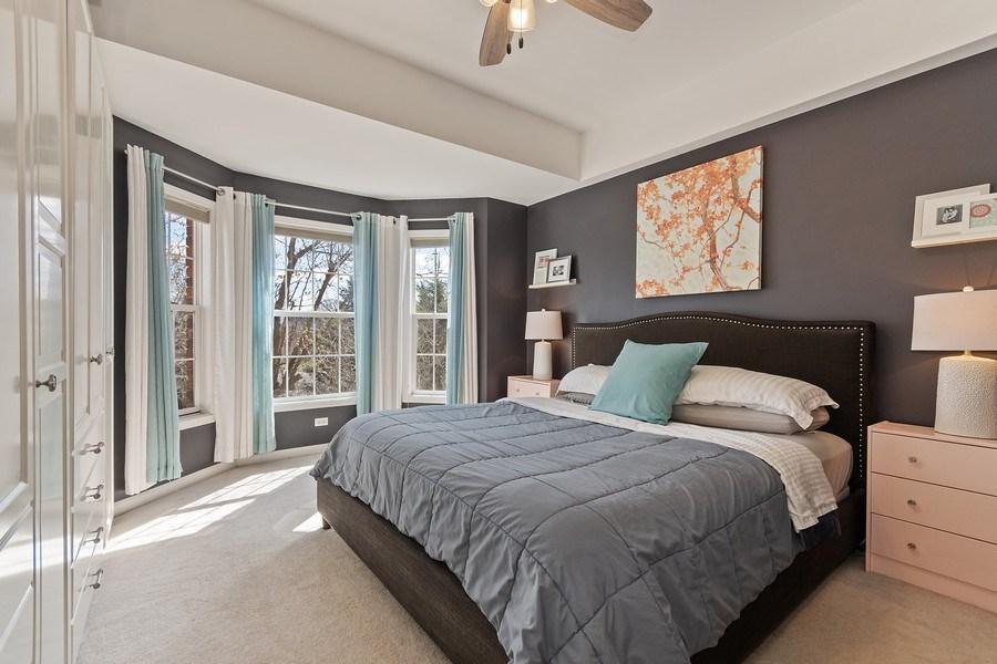 Real Estate Photography - 705 Prescott Court, Naperville, IL, 60563 - Master Bedroom