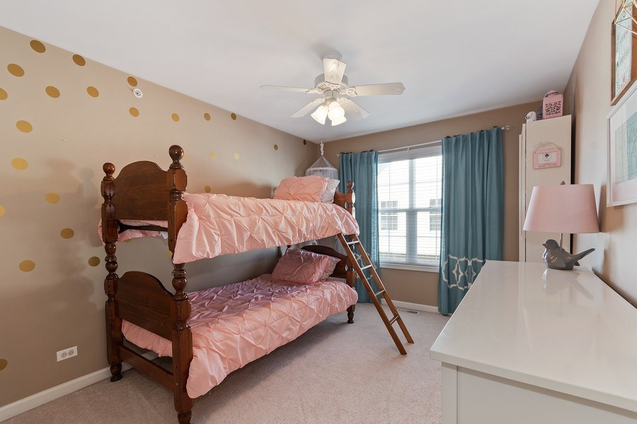 Real Estate Photography - 705 Prescott Court, Naperville, IL, 60563 - 3rd Bedroom