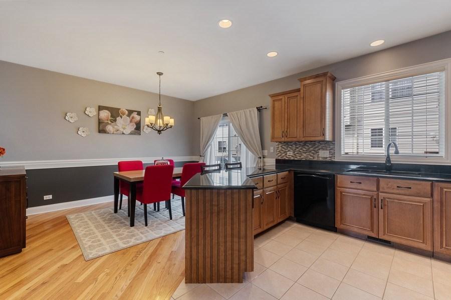 Real Estate Photography - 705 Prescott Court, Naperville, IL, 60563 - Kitchen