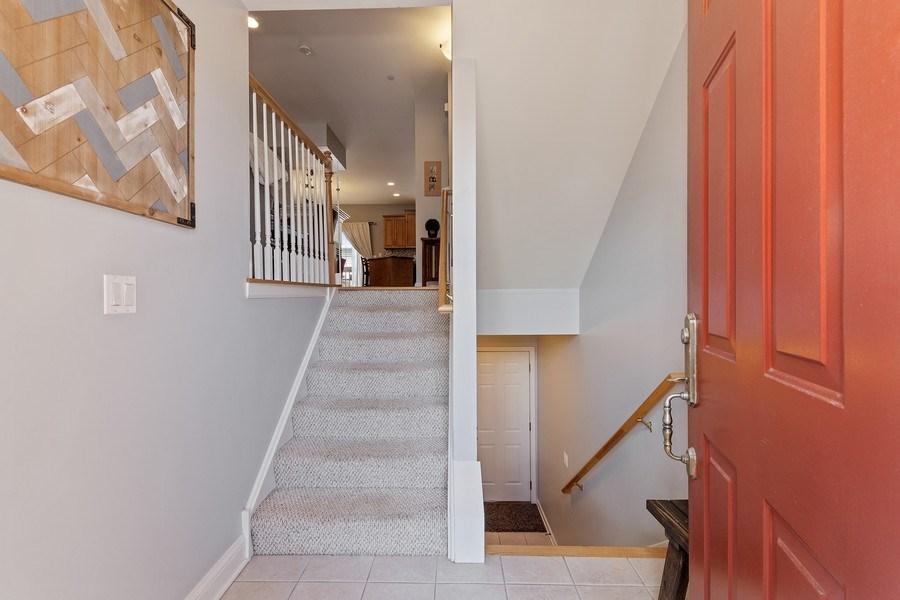 Real Estate Photography - 705 Prescott Court, Naperville, IL, 60563 - Foyer