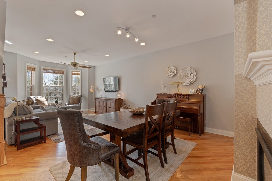 Real Estate Photography - 705 Prescott Court, Naperville, IL, 60563 - Dining Room