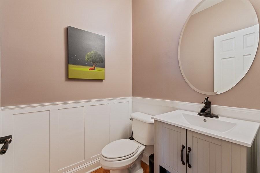 Real Estate Photography - 705 Prescott Court, Naperville, IL, 60563 - Half Bath