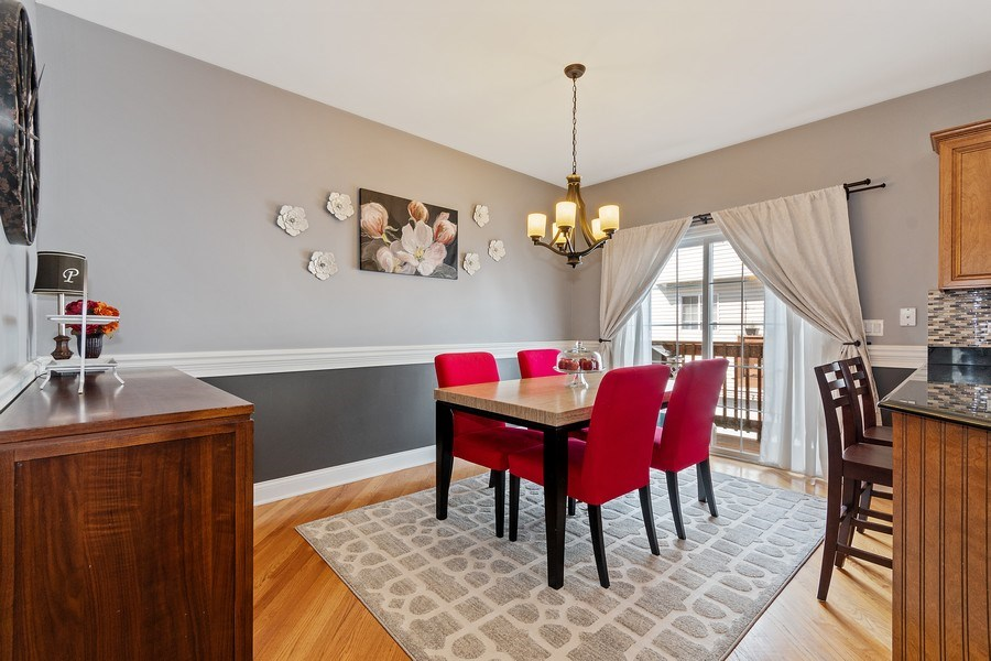 Real Estate Photography - 705 Prescott Court, Naperville, IL, 60563 - Breakfast Nook